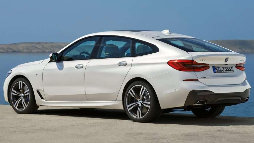 BMW в Росії почав продажі нового BMW 6 series GT