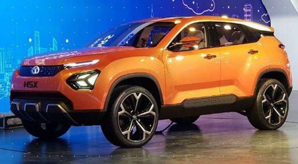 Tata представила новий кросовер на базі Land Rover Sport