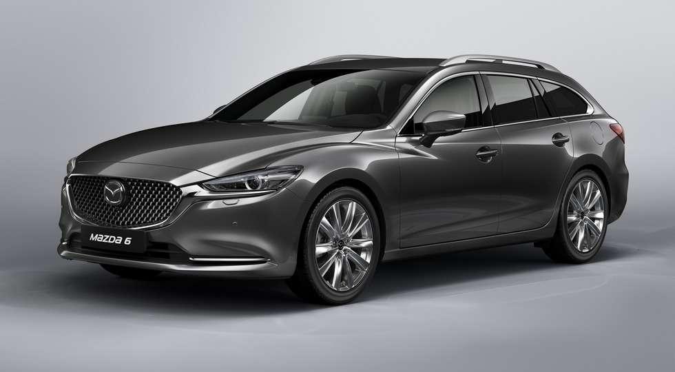 Mazda офіційно представила новий універсал 6 Tourer