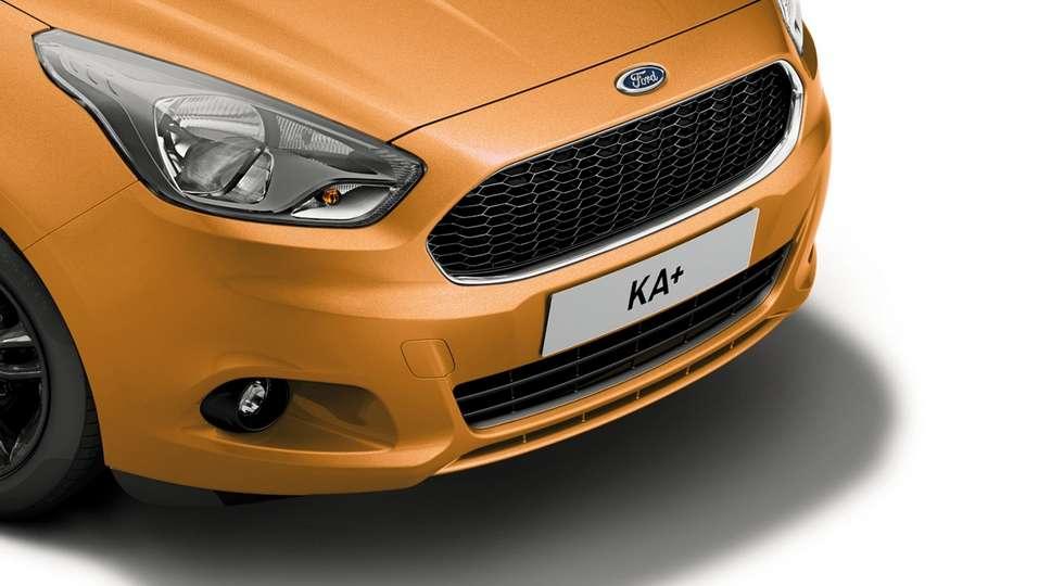 Компактний кросовер Ford Ka+ отримав спецверсію Black Edition