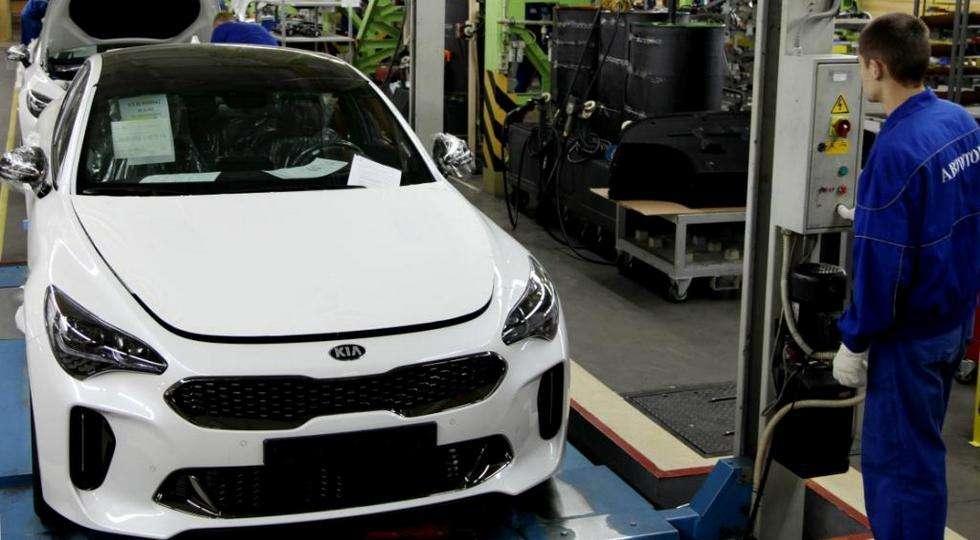 «Автотор» почав випуск нового фастбека KIA Stinger