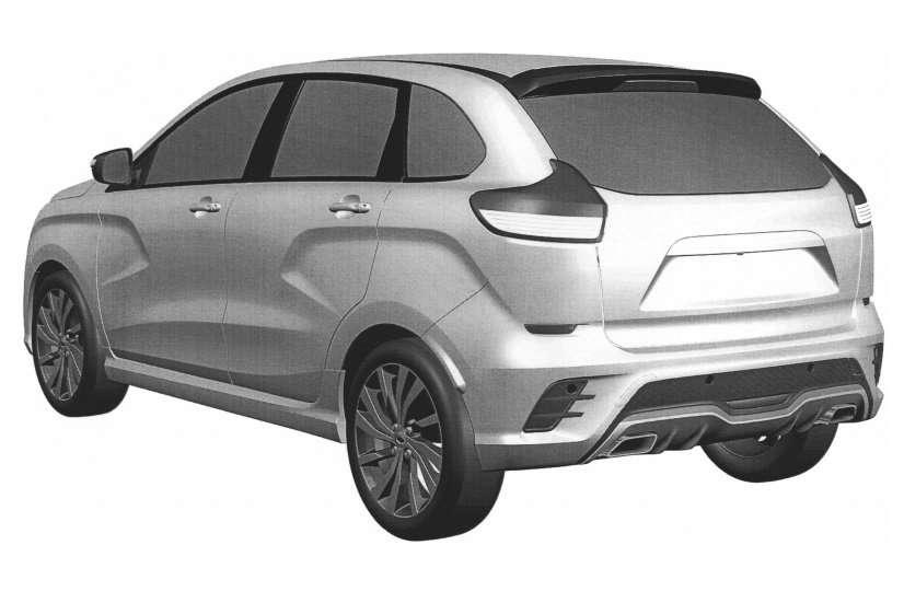 Патент на нову версію хетчбека LADA Xray Sport отримав «АвтоВАЗ»