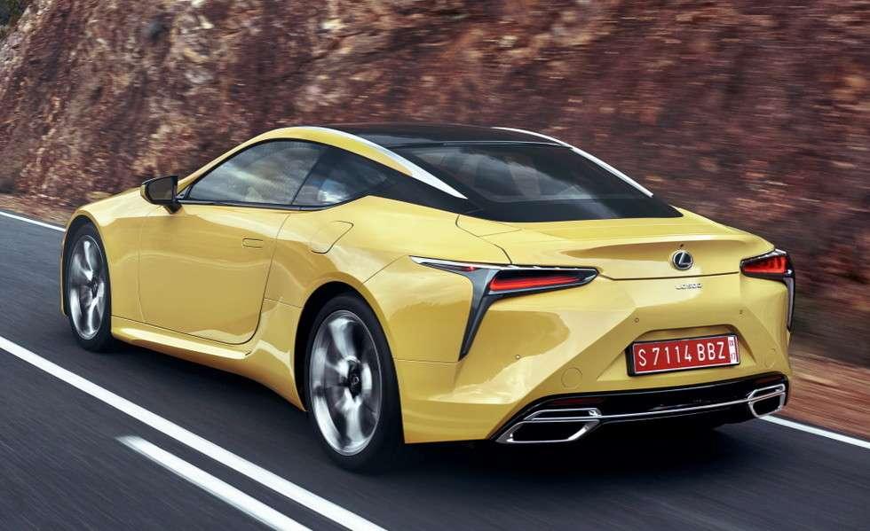 Lexus випустить «заряджене» купе LC і кабріолет LC Convertible