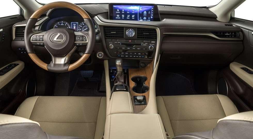 Семимісцевий кросовер Lexus RX L представлений офіційно