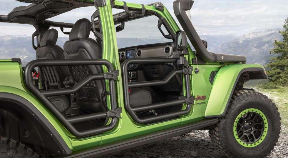 Jeep в Лос-Анджелесі показав ексклюзивний Jeep Wrangler Rubicon 2018