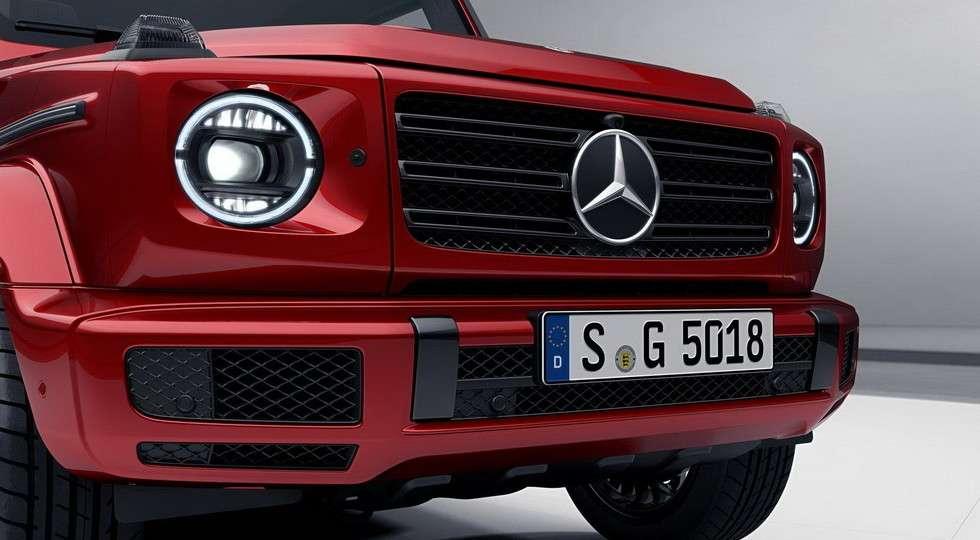 Mercedes-Benz G-Class нового покоління отримав «Нічний пакет»