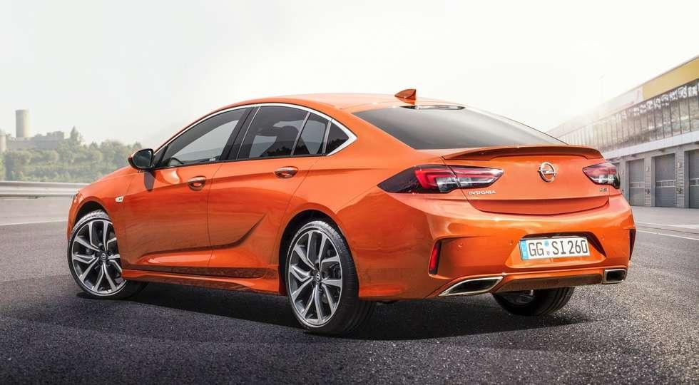 Дилери Opel в Європі почали продажу «зарядженої» версії Insignia GSi