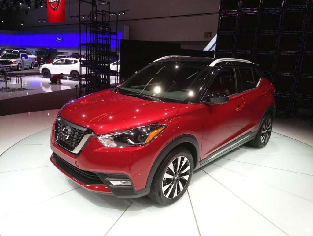 «Живі» фото наступника Nissan Juke опубліковані в Мережі