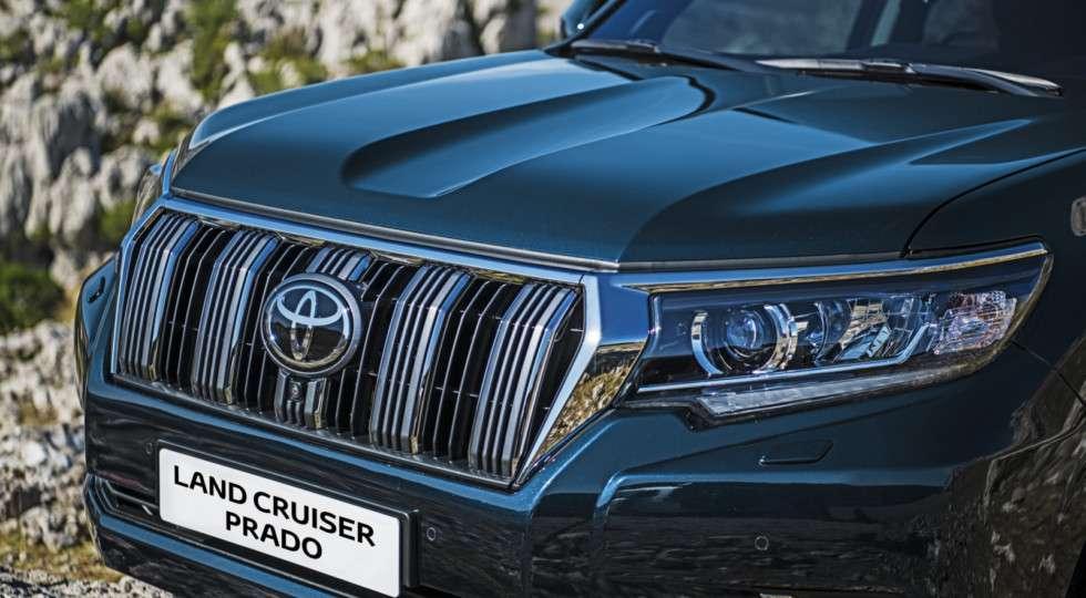 Стартували російські продажі оновленого Toyota Land Cruiser Prado 2018