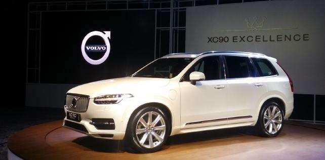 Volvo привезе до Росії гібридний кросовер volvo XC90 T8 влітку 2018 року