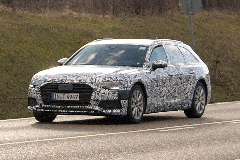 Універсал Audi A6 Avant нового покоління помічений на тестах