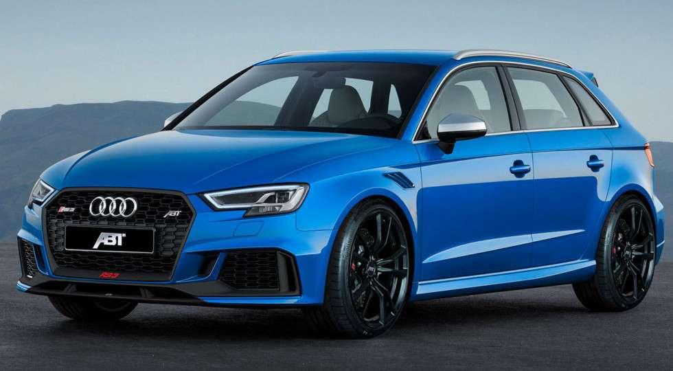 Тюнінг-ательє ABT представив «заряджений» Audi RS3