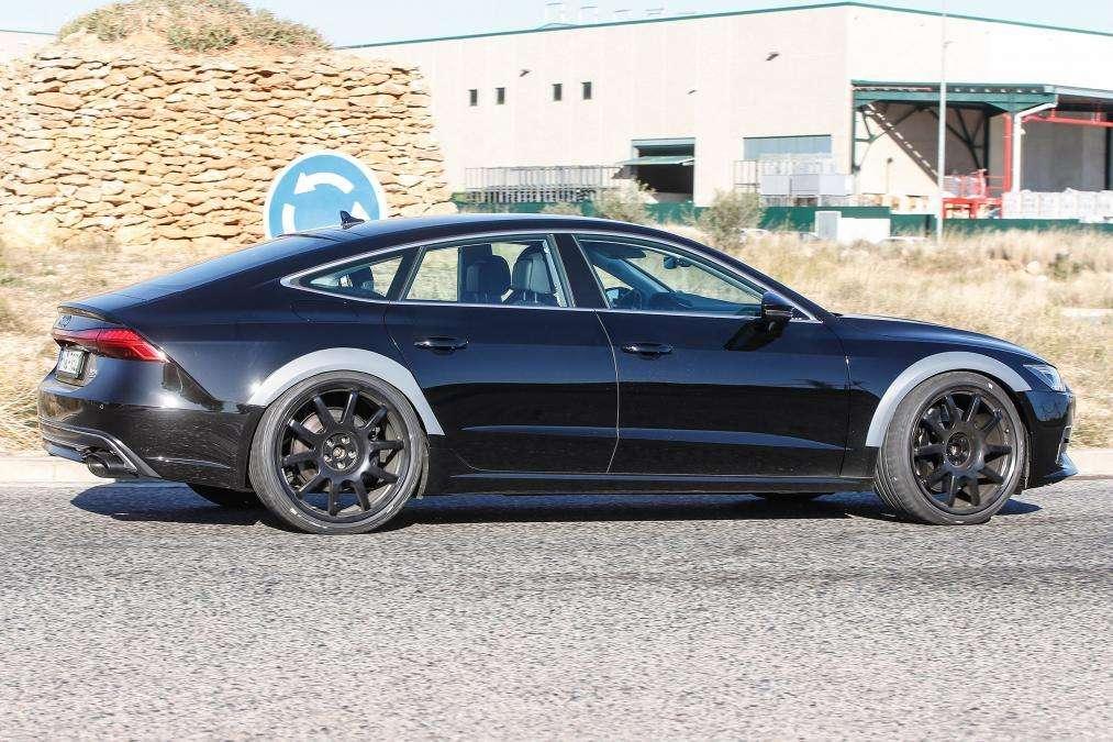 Найпотужніший Audi RS7 Sportback помічений фотошпигунами