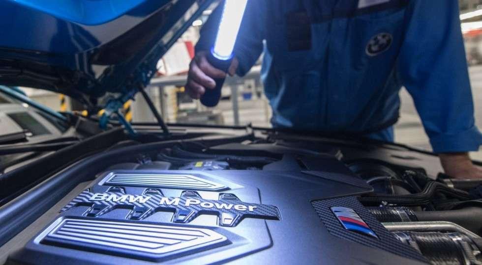 Найпотужніший седан BMW M5 став на конвеєр заводу в Дингольфинге