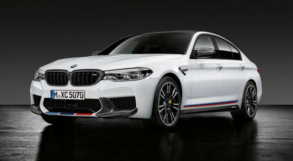 BMW назвала ціни на «заряджений» седан BMW M5 для Росії