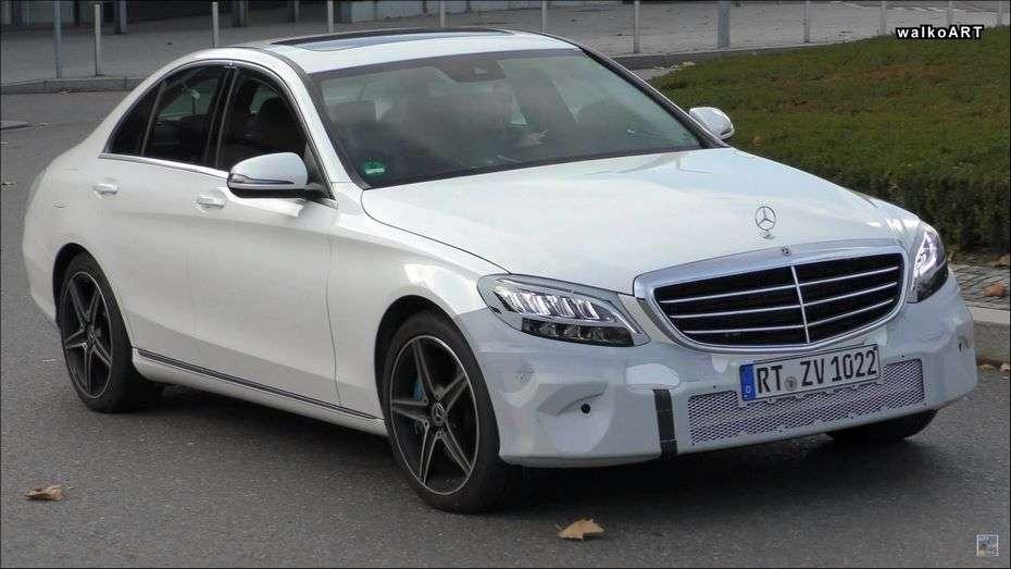 На тестах помічений новий Mercedes-Benz C-Class з гібридним мотором