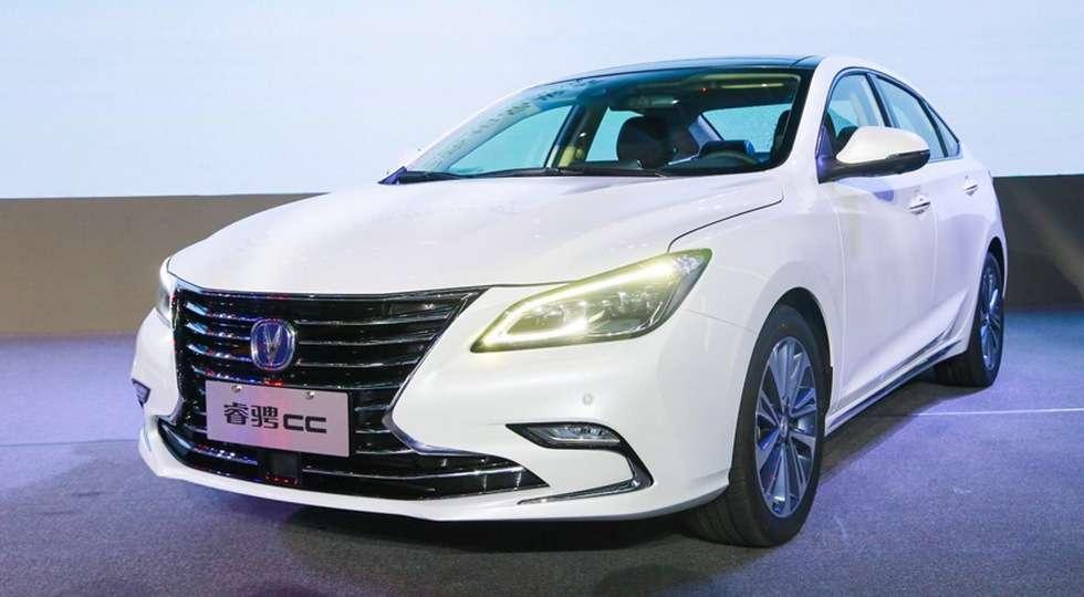 Changan представив новий седан Changan Raeton CC