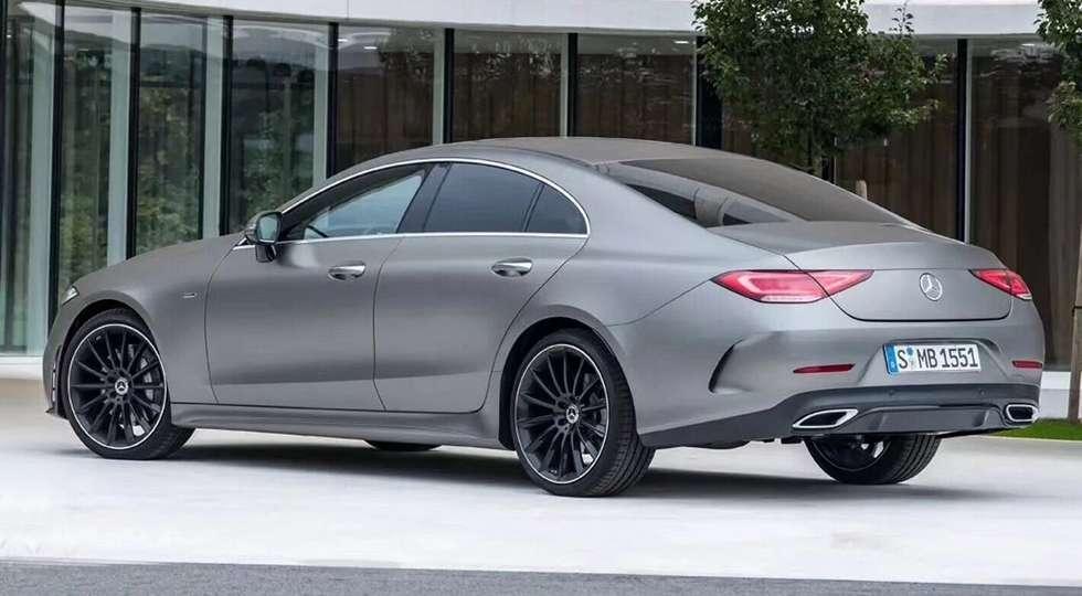 Новий седан Mercedes-Benz CLS розсекретили до премєри