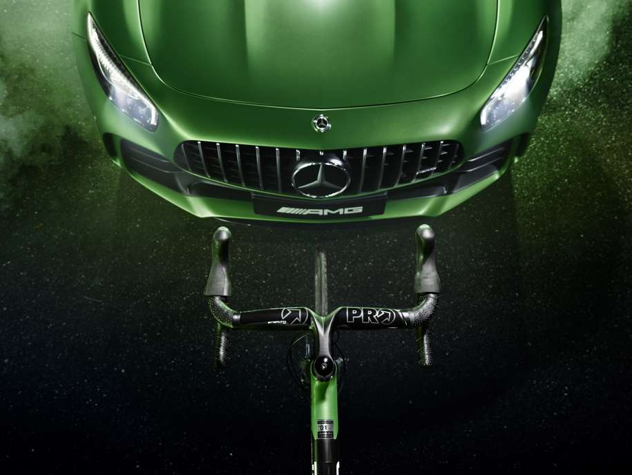 Mercedes-AMG побудував спецверсію карбонового велосипеда за 500 рублів 00