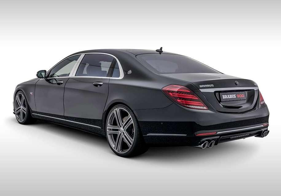 Brabus з нового Mercedes-Maybach зробив 900-сильний седан