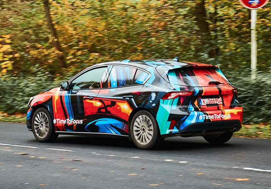 Названа дата премєри нового покоління хетчбека Ford Focus