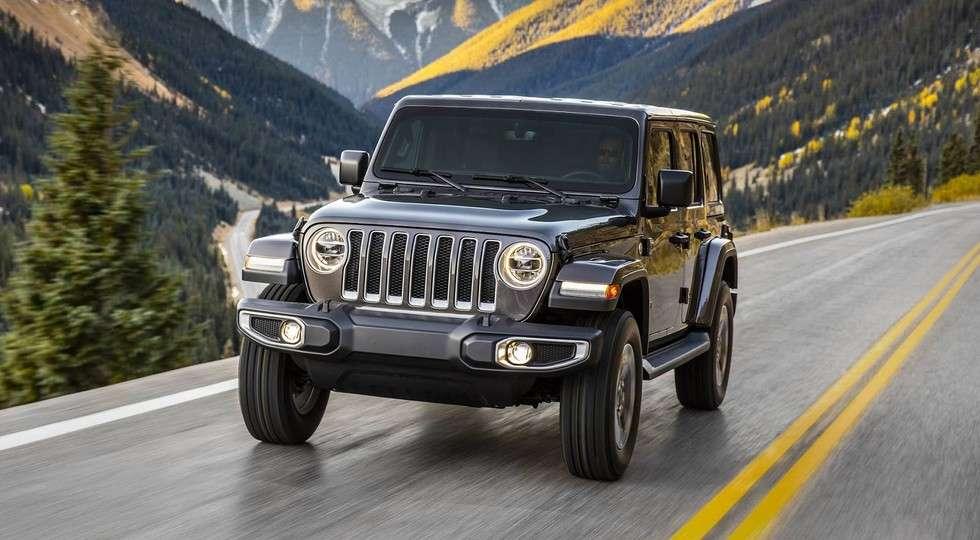 Новий позашляховик Jeep Wrangler дебютував у Лос-Анджелесі
