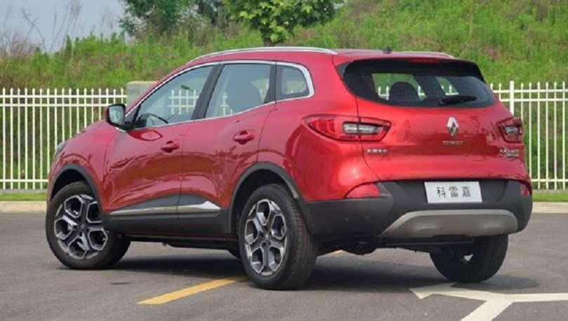 Оновлений кросовер Renault Kadjar надійде в продаж навесні