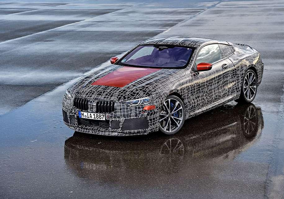 Представлений офіційний тизер флагманського купе BMW 8-Series