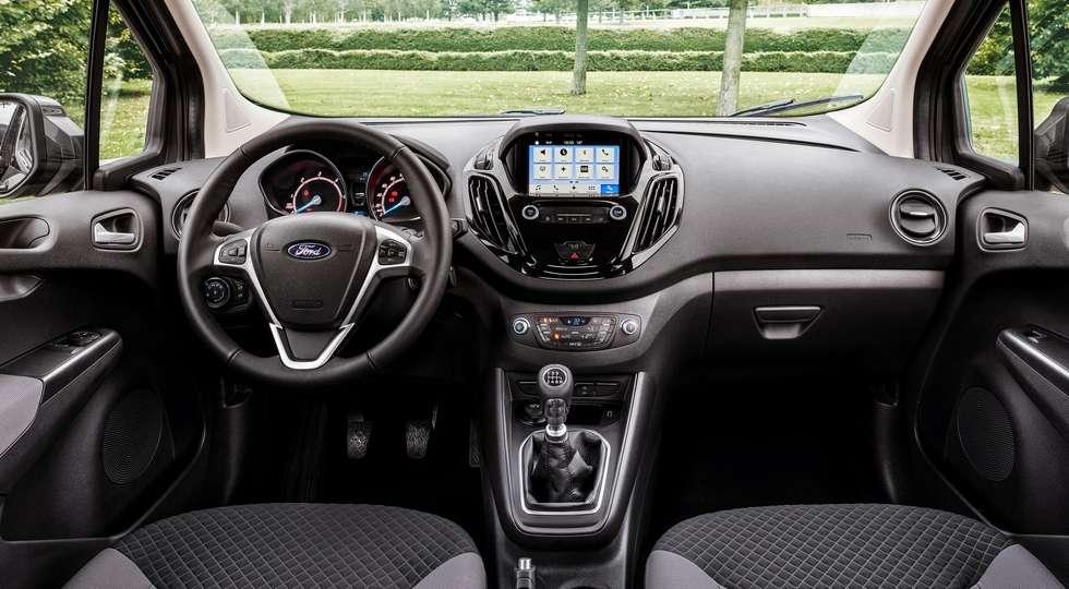 Компанія Ford представила оновлені Transit Courier і Transit Connect