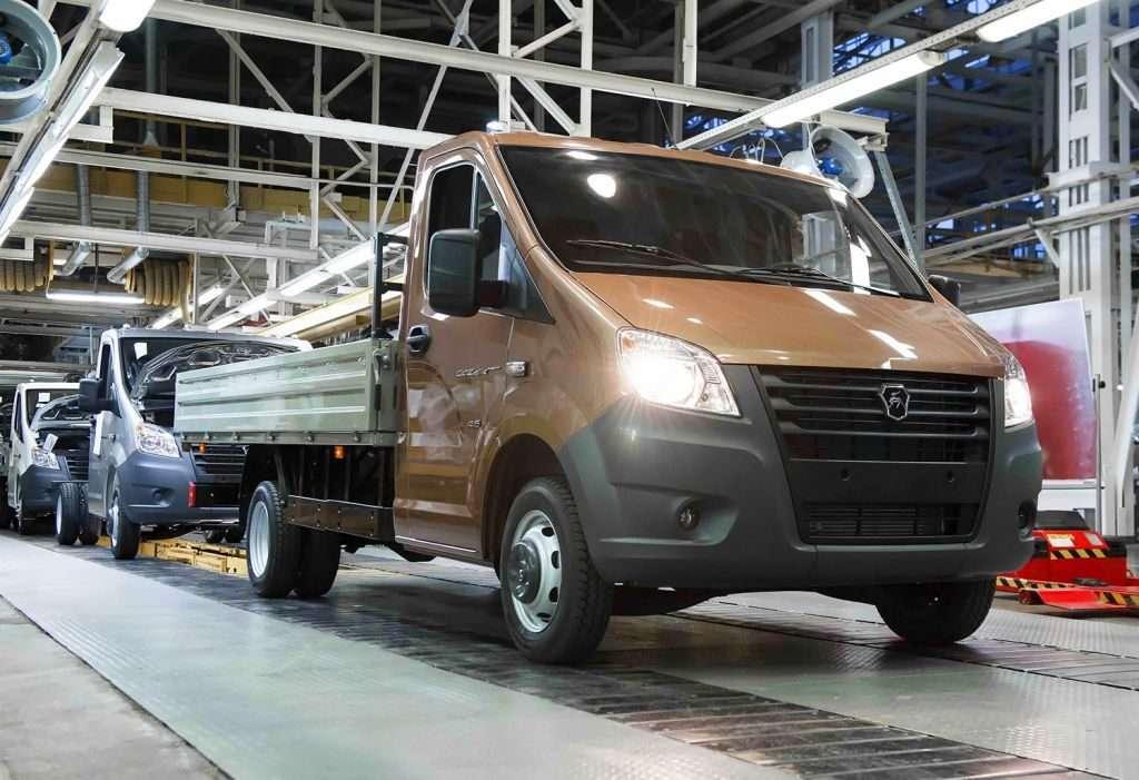 У Росії стартувало виробництво нових «ГАЗон NEXT» і «ГАЗель NEXT»
