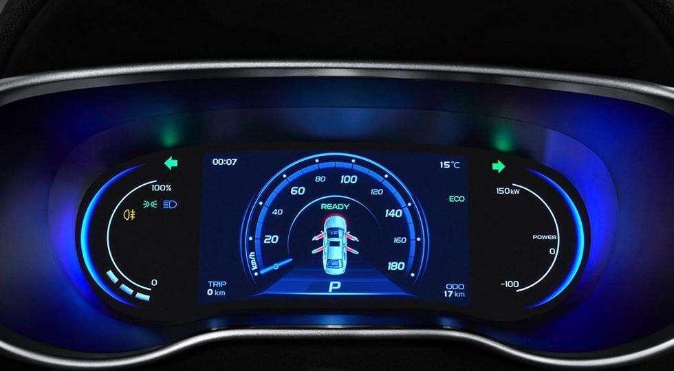 Оновлений Geely Emgrand 7 отримав нову версію EV450