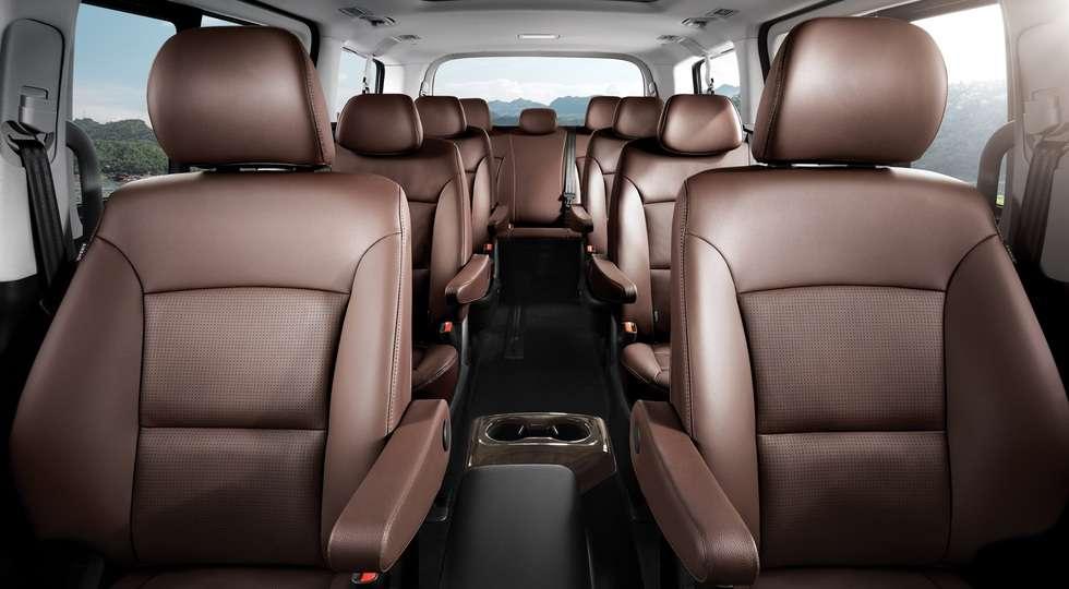 Hyundai офіційно представила оновлений мінівен H-1