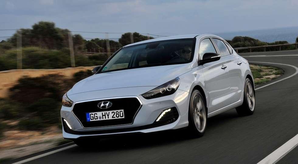 Названі ціни і комплектації на купеподібний Hyundai i30 Fastback