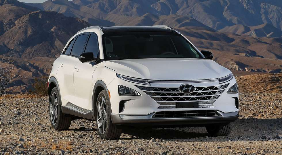 CES 2018: Hyundai представила новий водневий кросовер Nexo