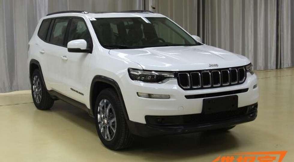 Jeep показала новий семимісний позашляховик Jeep Grand Commander