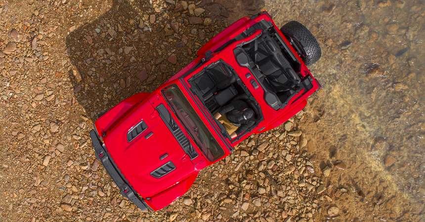 Офіційні фото розсекретили дизайн нового Jeep Wrangler 2018