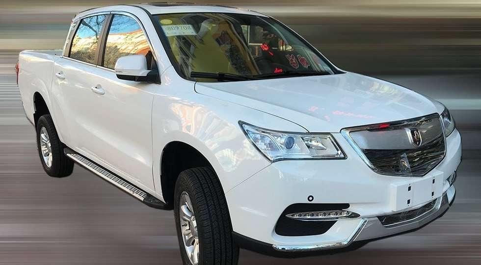 Jinbei перетворила в пікап клон преміального позашляховика Acura MDX
