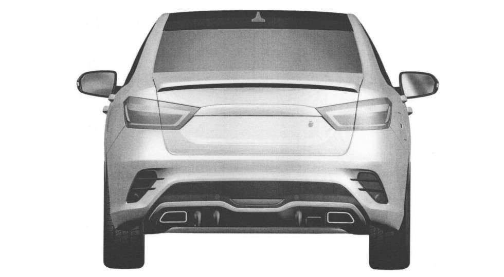 Дизайн нового седана LADA Vesta Sport розсекречений в Мережі