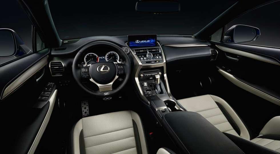 Російські дилери Lexus почали продажі оновленого Lexus NX