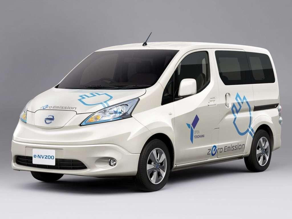 Електрокарів Nissan Leaf і Nissan e-NV200 зявляться в Росії