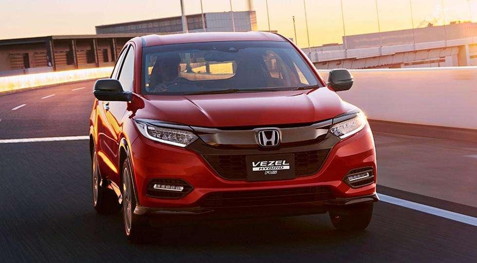 У Мережі розсекретила оновлений кросовер Honda HR-V 2018
