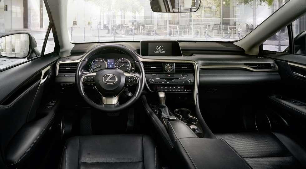 Флагманський кросовер Lexus RX отримав версію Sport RX