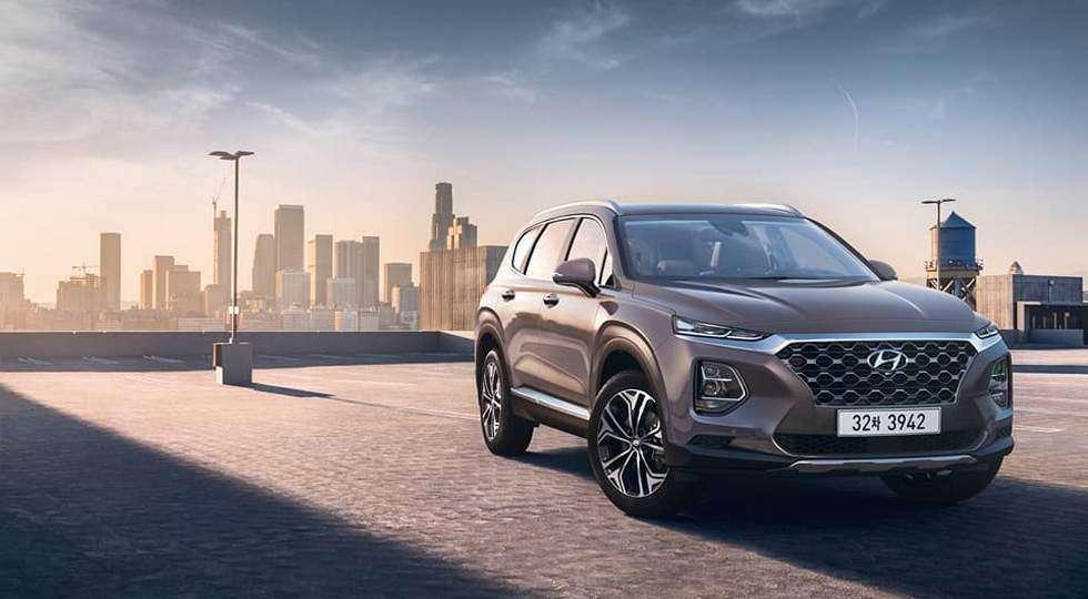Названі ціни на новий кросовер Hyundai Santa Fe 2019