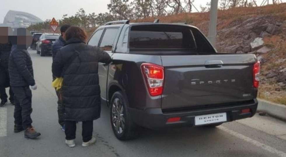 Компанія SsangYong випустить новий пікап на базі Rexton