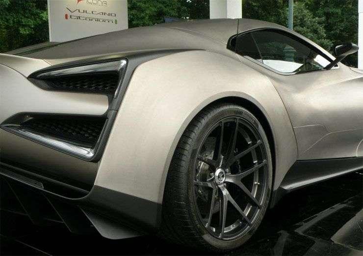 У Дубаї представили найдорожчий суперкар в світі — Icona Vulcano Titanium