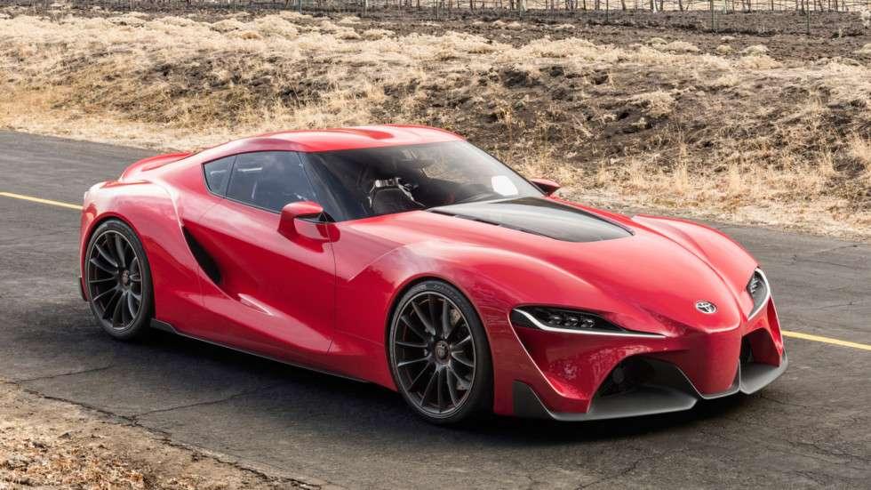 Стала відома дата премєри відродженого спорткара Toyota Supra
