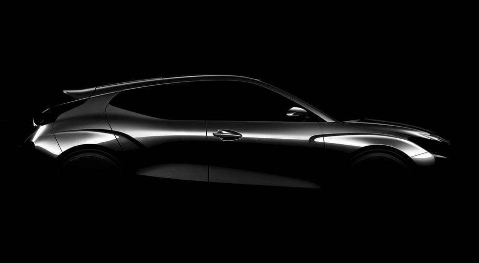 Салон нового хетчбека Hyundai Veloster розсекречений до премєри