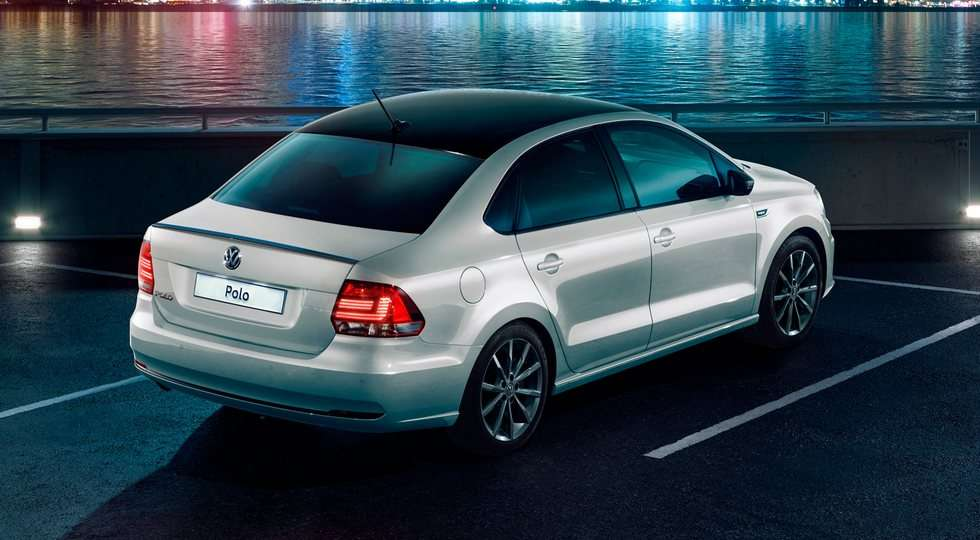 Седан Volkswagen Polo отримав в Росії спецверсію Polo Drive