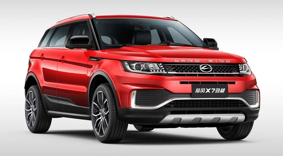 Landwind офіційно відновила «клона» Range Rover Evoque